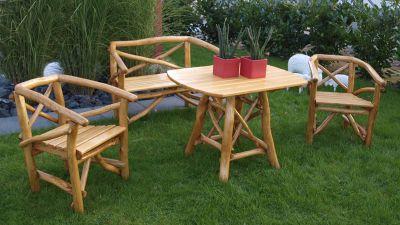 Holz Gartenmöbel Set Angebote ~ Gartenmöbel set holz mit bank ambiznes