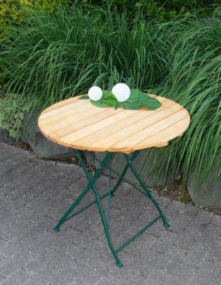 Gartentisch Rund Robinie Stahl