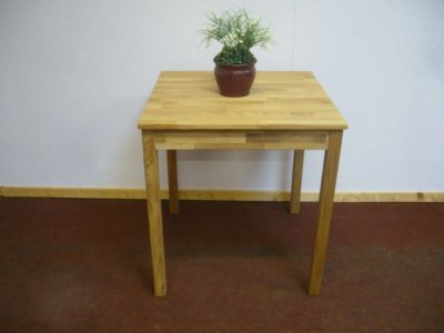 Tisch buche 70x70 preisvergleich die besten angebote for Wohnzimmertisch 70x70