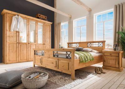 Schlafzimmer komplett Kiefer massiv