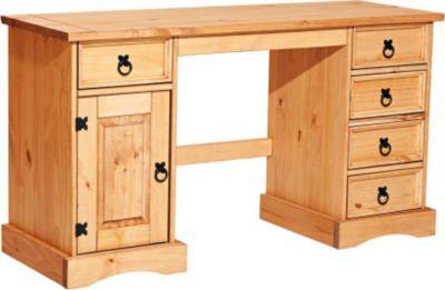 schreibtisch massiv preisvergleich die besten angebote online kaufen. Black Bedroom Furniture Sets. Home Design Ideas