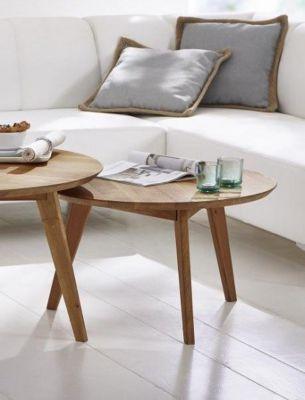 couchtisch wildeiche massiv preisvergleich die besten angebote online kaufen. Black Bedroom Furniture Sets. Home Design Ideas