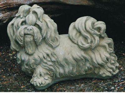 Country Garden  Hund Shih-Tzu
