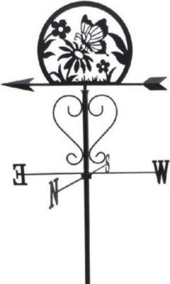 Gartenstab/Wetterfahne ´Garden