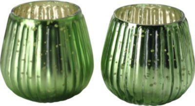 Windlicht-Set ´Lieke´ grün