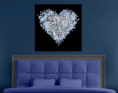 leinwandbild-diamant-herz-100x100