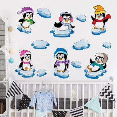 wandtattoo-pinguin-winter-kinderzimmer-set-100x100