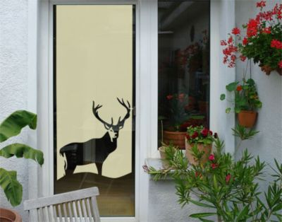 Fensterfolie - Sichtschutzfolie No.UL813 Hirsch - Milchglasfolie