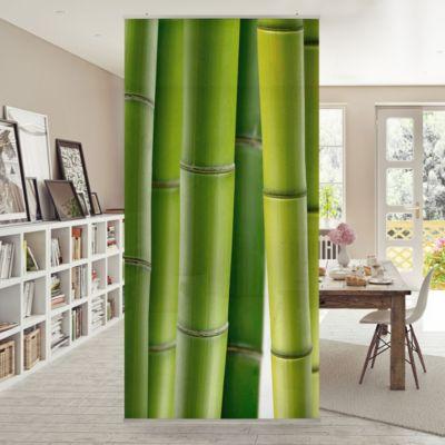 Raumteiler | Vorhang - Bambuspflanzen 250x120cm