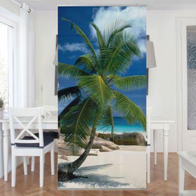 Raumteiler   Vorhang - Traumstrand 250x120cm