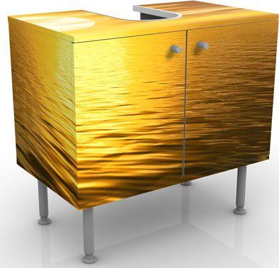 Waschbeckenunterschrank - Golden Sunrise - Bads...