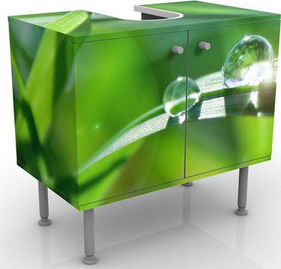Waschbeckenunterschrank - Green Ambiance II - B...