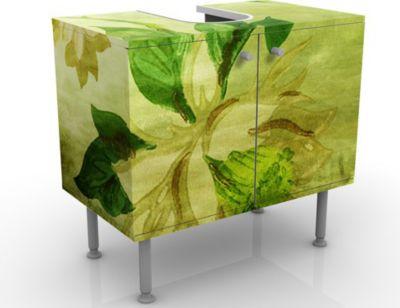 Waschbeckenunterschrank - Green Blossoms - Blum...