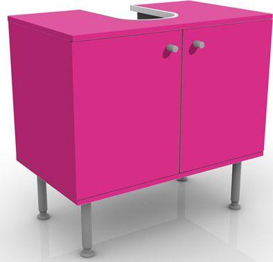 Waschbeckenunterschrank - Colour Pink - Badschr...