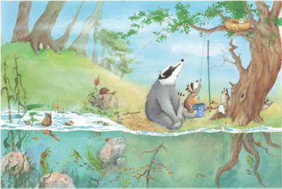 Kinderzimmer Tapeten - Vliestapeten Premium - Ein Fahrstuhl für Elsa - Fototapete Breit | Kinderzimmer > Kinderzimmerstühle > Kinderstühle | PPS. Imaging