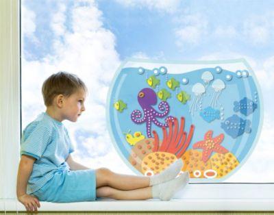 Fensterfolie - Fenstersticker No.UL444 Aquarium - Fensterbilder