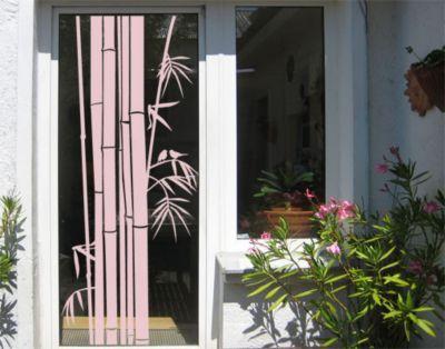 Fensterfolie   Fenstertattoo No UL959 Bambus III   Milchglasfolie