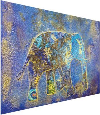 forex-fine-art-print-wandbild-elephant-in-marrakech-quer-2-3