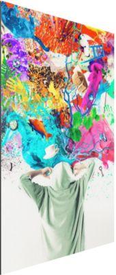 Aluminium Print - Wandbild Brain Explosion I - Hoch 3:2