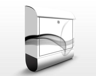 Briefkasten mit Zeitungsfach - Floater - Modern...