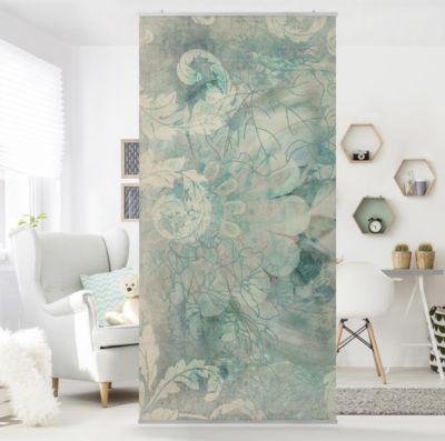 Raumteiler | Vorhang - Eisblumen 250x120cm