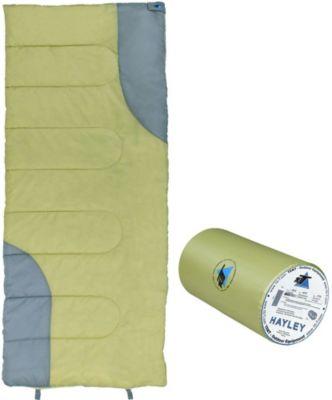 10 T Outdoor Equipment 10T Hayley - Decken-Schlafsack bis -7°C ohne Kapuze, 190x80 cm, 1050g leicht, 2-3 Jahreszeiten, Camping & Trekking