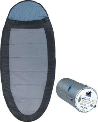 10 T Outdoor Equipment 10T Tara XXL Camping Schlafsack bis -13°C Outdoor Deckenschlafsack 220x100cm , eiförmiger Hüttenschlafsack mit 2000g Trekking Reiseschlafsack für 3 /