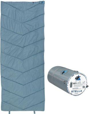 10 T Outdoor Equipment 10T Stella XL Camping Schlafsack bis -7°C Outdoor Deckenschlafsack 200x80 cm Hüttenschlafsack mit leichten 1200g Trekking Reiseschlafsack für 3 / 4 Ja
