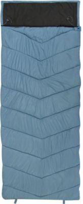 10 T Outdoor Equipment 10T Burnum - XXL Decken-Schlafsack bis -11°C mit Kopfkissen Kapuze, 230x90 cm, 1600g leicht, 3 Jahreszeiten, Camping & Trekking