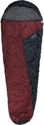 10 T Outdoor Equipment 10T Arctic Sun - Einzel Mumien-Schlafsack 230x85cm rot/dunkelblau 1700g bis -16°C