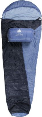 10 T Outdoor Equipment 10T Arctic Navy - Einzel Mumien-Schlafsack 230x85cm blau/hellblau 1700g bis -16°C