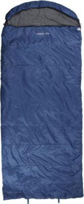10 T Outdoor Equipment 10T Alaskan Blue - Einzel Decken-Schlafsack mit Halbmond-Kopfteil Komfortmaße 235x100cm blau bis -21°C
