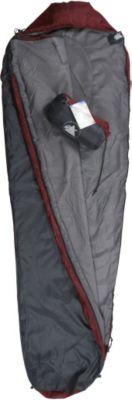 10 T Outdoor Equipment 10T Hatfield 800 - Einzel Mumien-Schlafsack 210x75cm Kompakt-Packmaß 28x15cm bei 800g bis -6°C