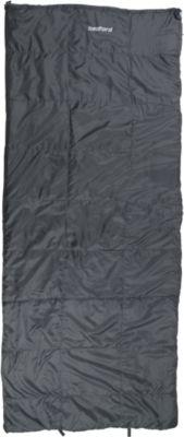 10 T Outdoor Equipment 10T Bedford - Einzel Decken-Schlafsack 210x90cm grau Schachbrett-Steppung bis -16°C