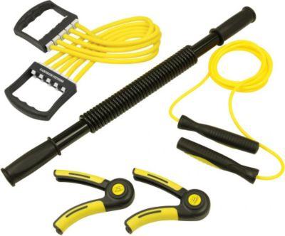 carnegie-super-forearm-kit-fitness-reise-set-mit-springseil-hupfseil-expander-widersatndsband-konigsfeder-biegehantel-fingerhanteln-handtrainer