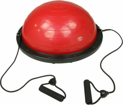 Carnegie Fitness Carnegie Balance Ball Gleichgewichtstrainer Balance Board mit Widerstandsbändern