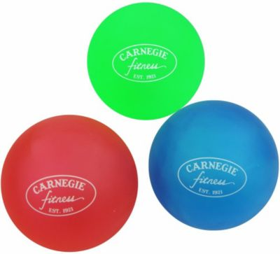 Carnegie Fitness Carnegie Handtrainer Fingertrainer 3x Therapieball Finger Hand Anti-Stress-Bälle