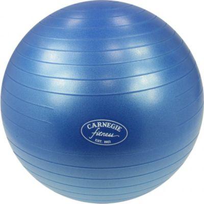 Carnegie Fitness Carnegie Gymnastikball Ø 55 cm Massageball Fitnessball Sitzball 300 kg + Pumpe