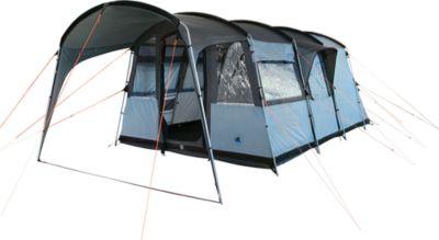 10 T Outdoor Equipment 10T Camping-Zelt Bateman 4 Tunnelzelt mit Schlafkabine für 4 Personen Outdoor Familienzelt mit Wohnraum Steilwandzelt mit Sonnendach, eingenähte Boden
