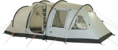 10 T Outdoor Equipment 10T Kenton - 4-Personen Apsis Tunnel-Zelt mit Voll-Bodenplane gr. Wohnraum + teilbare Innenkabine WS=5000mm