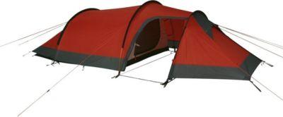 10T Camping-Zelt Silicone Valley 3 Tunnelzelt mit Schlafkabine für 3 Person Outdoor Trekkingzelt mit UV beständiger Silikon Beschichtung, Wohnraum, Aluminium Gestänge, wasserdicht mit 5000mm Wassersäule