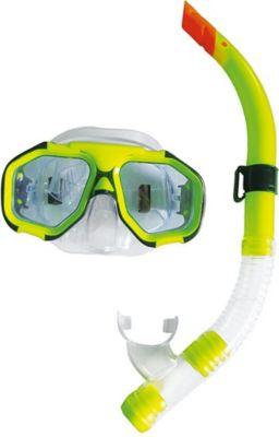 Ocean Schnorchelset Tauchset mit Tauchmaske / Taucherbrille / Schwimmbrille und Dry Schnorchel Taucherschnorchel