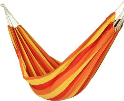 10 T Outdoor Equipment 10T Balasso XL Hängematte für 1 Person Tuchhängematte aus 100% Baumwolle 220x110 cm Hängeliege Gartenliege inkl. Befestigungsset mit Seil Knebelversch
