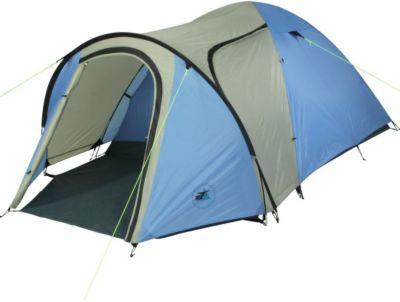 10 T Outdoor Equipment 10T Camping-Zelt Jumbuck 3 Kuppelzelt mit Schlafkabine für 3 Personen Outdoor Familienzelt mit Vorraum, Dauerbelüftung, Bodenplane, wasserdicht mit 50