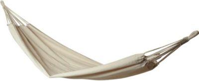 10T Relax Single - Premium Tuch-Hängematte Baumwolle natur Liegefläche 180x100cm | Garten > Hängematten | Baumwolle | 10-T Outdoor Equipment