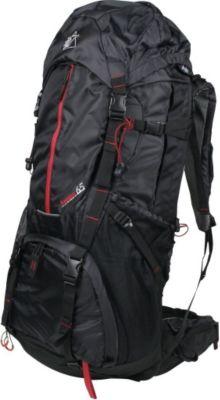 10 T Outdoor Equipment 10T Seneca 65L XXL Rucksack Tourenrucksack mit Regenschutz Trekkingrucksack mit Trinksystem, Hüft- & Schultergurte einstellbar Wanderrucksack mit