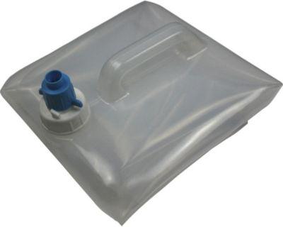 10 T Outdoor Equipment 10T Waca 15L Wasserkanister Kanister Faltkanister Trinkwasserkanister faltbar, lebensmittel echt inkl. Sperrhahn Ausgießer
