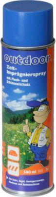 10 T Outdoor Equipment 10T Proof It Spray Zeltimprägnierung zum Sprühen 500 ml Imprägniermittel Imprägnierspray für Gewebe aus Baumwolle Polyster Nylon Acryl und Mischgewebe