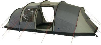 10 T Outdoor Equipment 10T Mento 8 - 8-Personen Apsis Vis-A-Vis Tunnel-Zelt 2 Schlafkabinen Voll-Bodenplane WS=5000mm