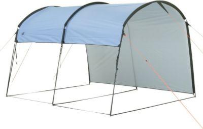 10 T Outdoor Equipment 10T Addison - Pavillon Tunnelform 292x254x197cm Wind- und Wetterschutz blau WS=5000mm